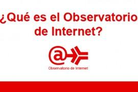 Vídeo e-obserevatorio del Instituto Nacional de consumo