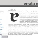 Los monstruos benévolos de Errata Naturae: Una editorial independiente muy filosfófica